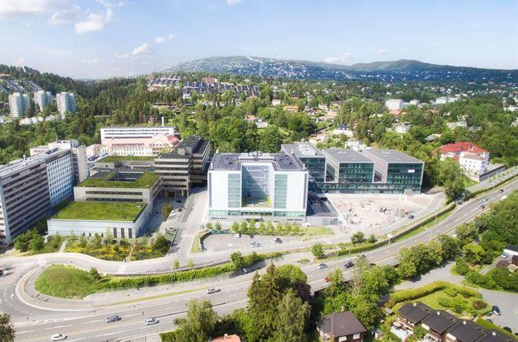 Radiumhospitalet - Illustrasjon: Henning Larsen Architects, AART Architects og Momentum Arkitekter