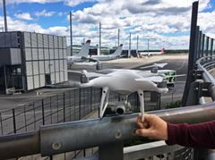 In the beginning of June drones were flown in the immediate vicinity of Norway's main airport, Avinor Oslo Airport (Photo: Avinor)