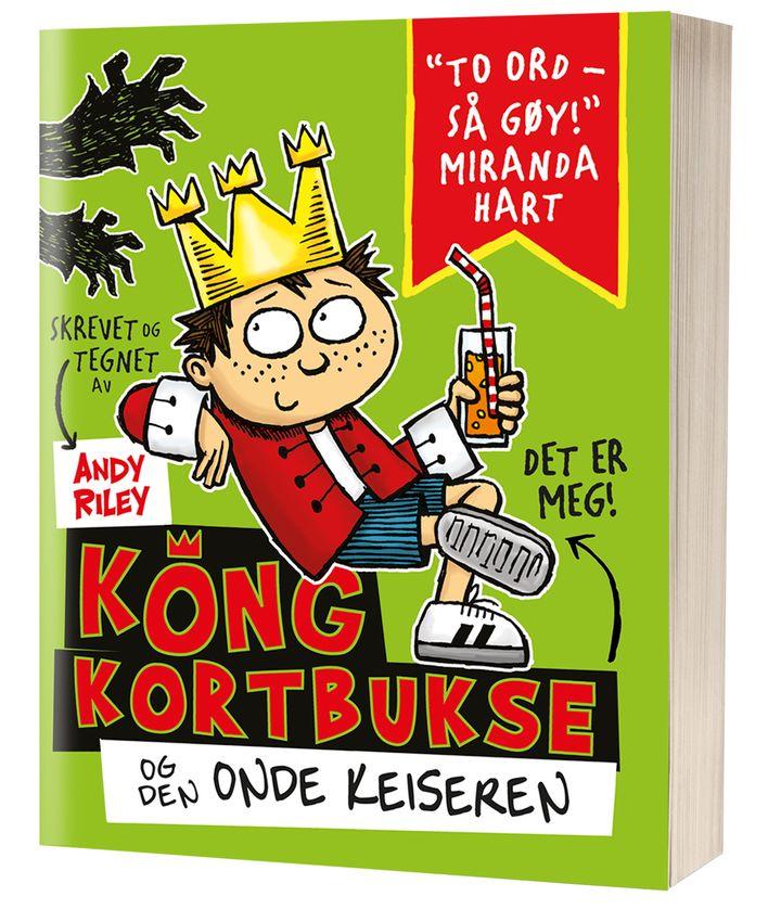 f8c60f10 Du får garantert vekket lattermusklene i Kong kortbukse bok 1!