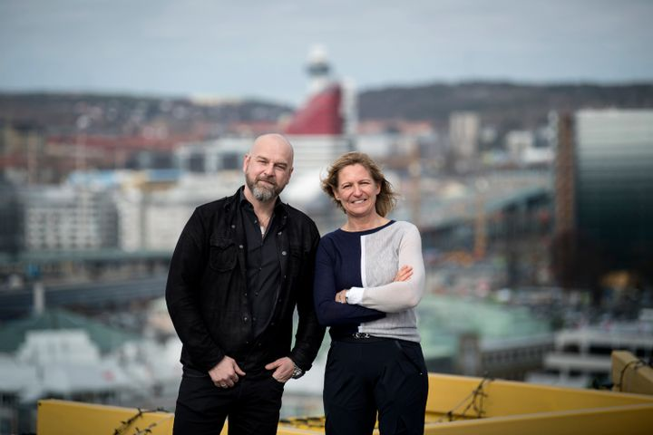 From left: Kenneth Karlsson, Senior Vice President, EVRY Digital Services, Catarina Gunneberg, CEO of Findwise.