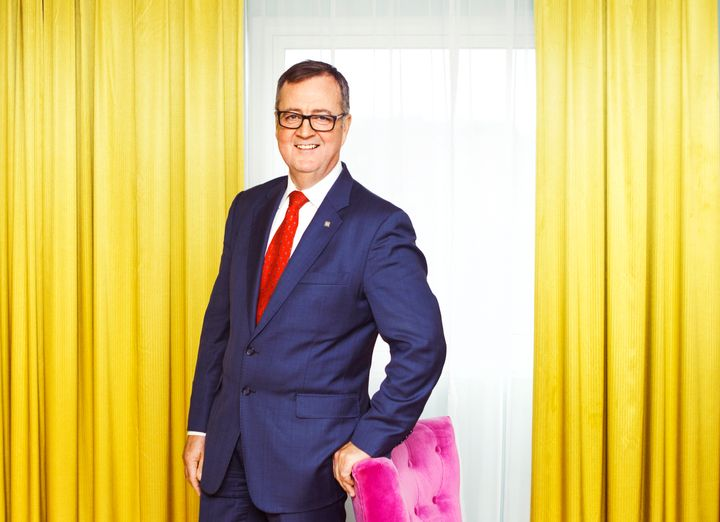 Morten Thorvaldsen, konserndirektør for Thon Hotels. Foto: Gry Traaen