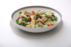 Duo of Watercress Salad and Smoked Trout
