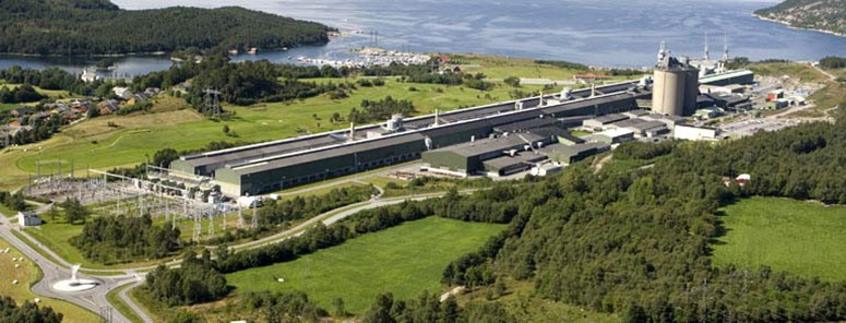 Hydro Husnes. Photo: Hydro