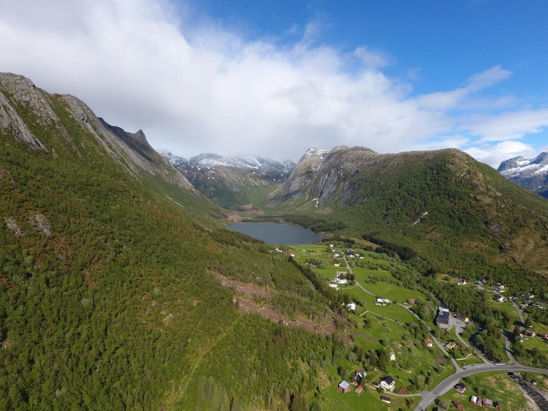 Bedre Oversikt Over Skredfare I Meloy Kommune Norges Vassdrags