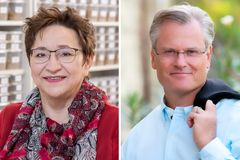 "German Environmental Prize awarded to soil scientist and cleaning products manufacturer / Prof. Dr. Ingrid Kögel-Knabner (Munich) and Reinhard Schneider (Mainz) honoured on 27 October 2019 in Mannheim / Editorial use of this picture is free of charge. Please quote the source: ""obs/Deutsche Bundesstiftung Umwelt (DBU)/©Heddergott/Piel"""