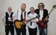 "Erik ""Slim"" Zahl & the South West Swingers(Foto: Rune Endal, Bluesnews)"
