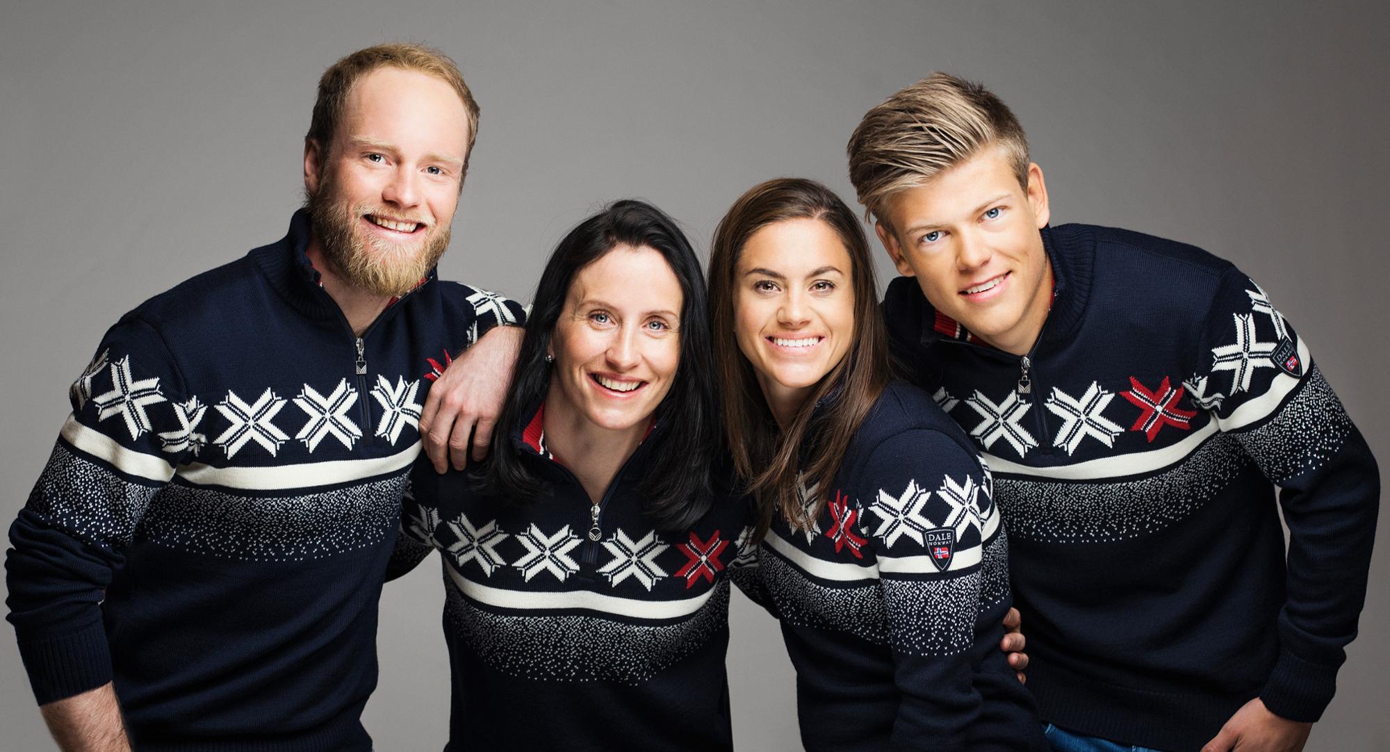 OL og VM gensere Offisiell leverandør Dale of Norway