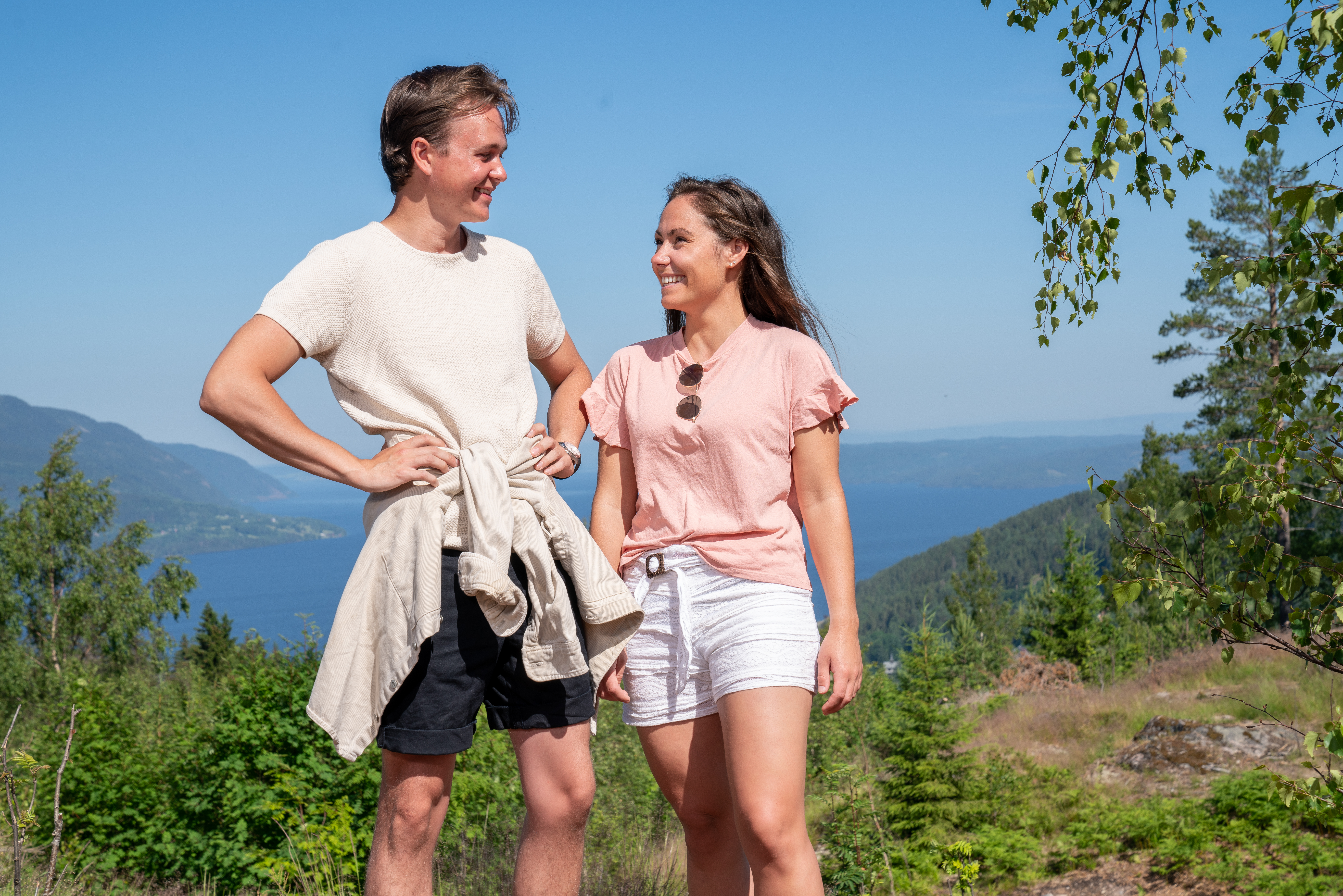 Adrian og Christine. Foto: Espen Solli