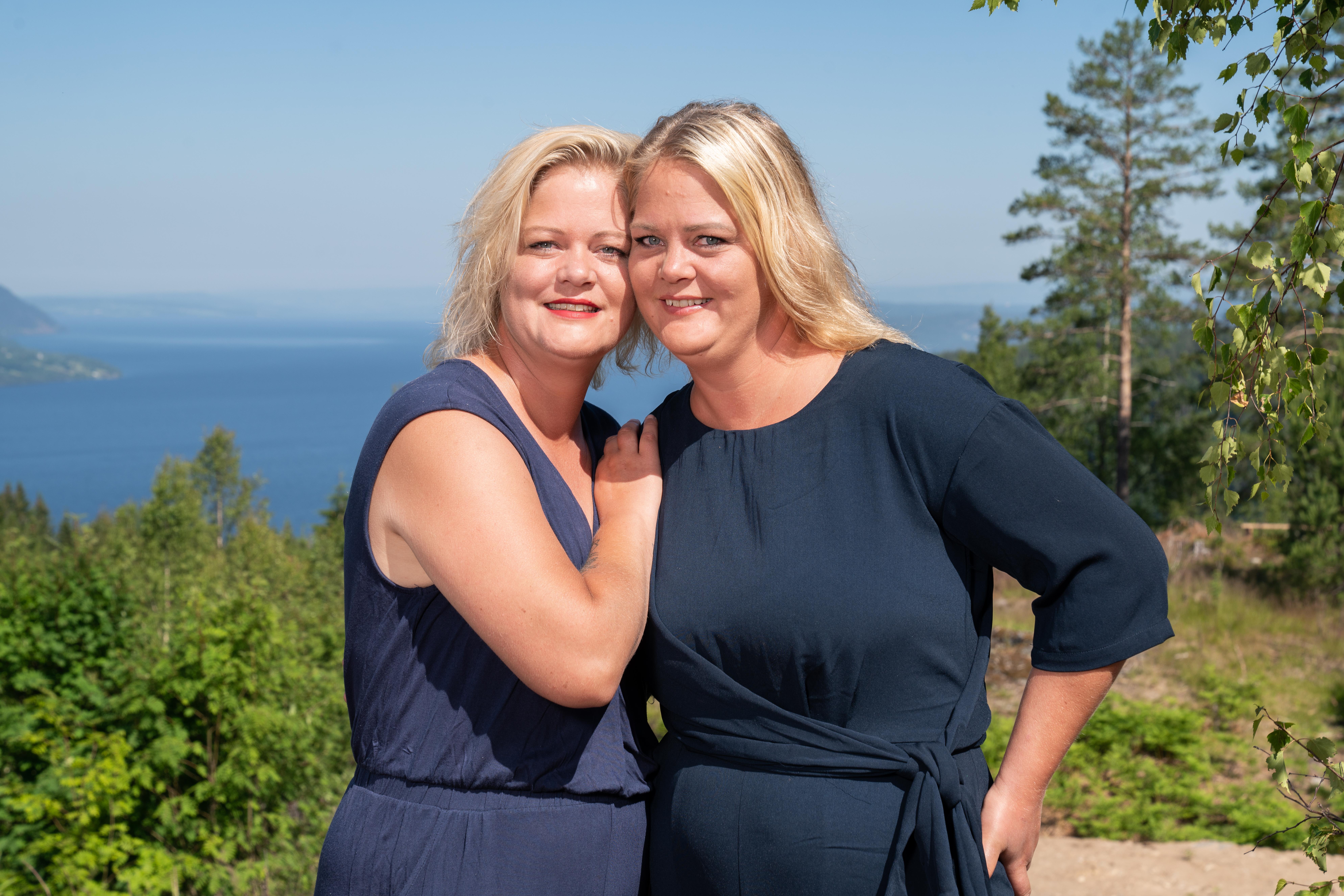 Trine og Trude. Foto: Espen Solli/TV 2