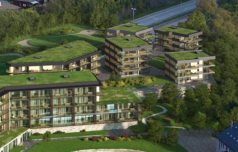 LAB Entreprenør har inngått avtale med Skjoldnes Utvikling AS om bygging av 65 leiligheter på Skjoldnes i Bergen kommune.