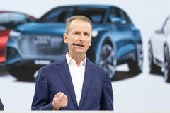 Dr. Hermann Diess, toppleder for Volkswagen AG.