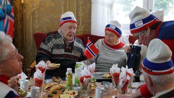 Manglerud gård treffsenter fikk se Håvard Lorentzen gå til gull da TINE inviterte til OL-lunsj