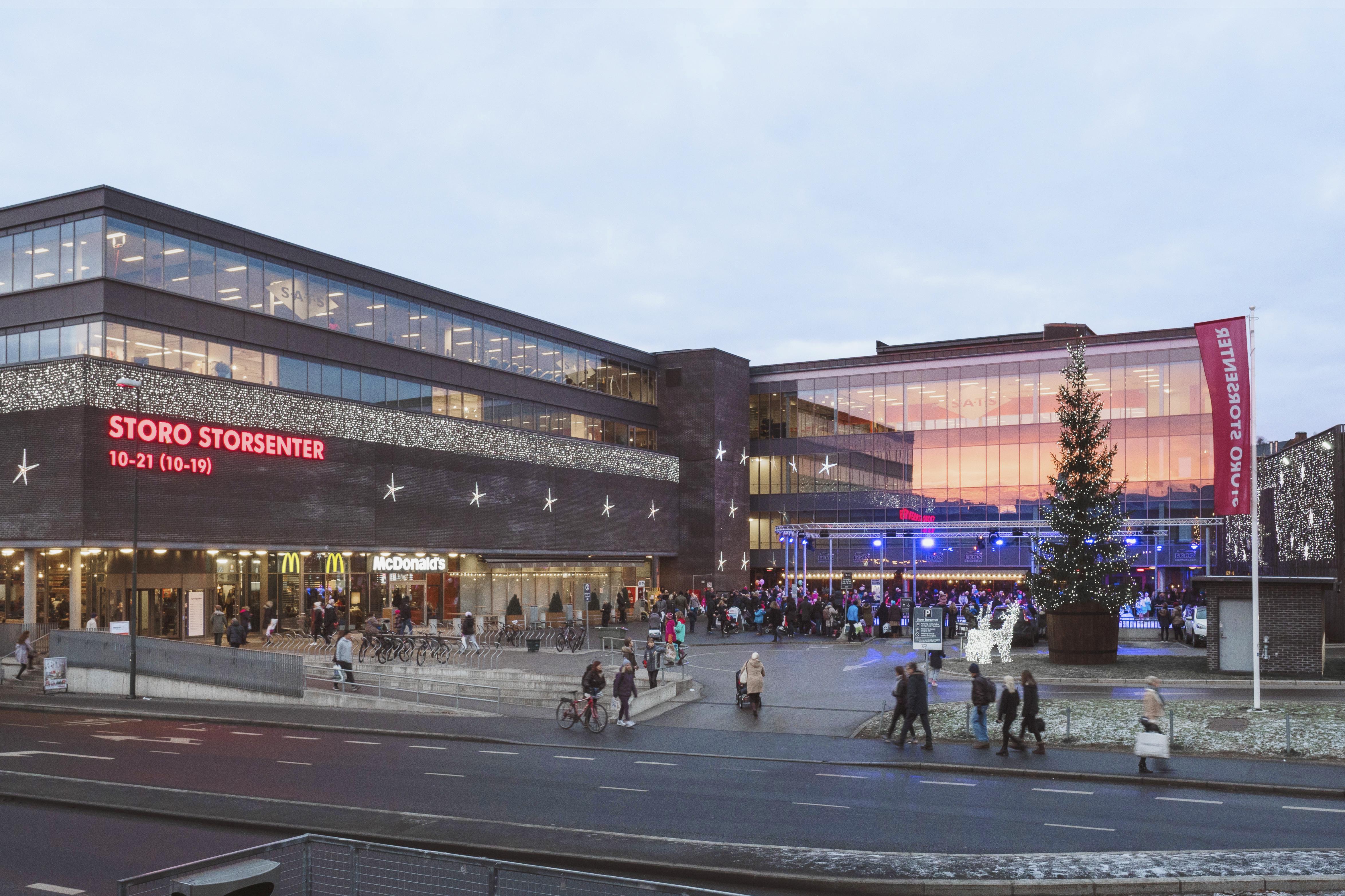 Kjøpesentre | Nordby Shoppingcenter | Thon Eiendom