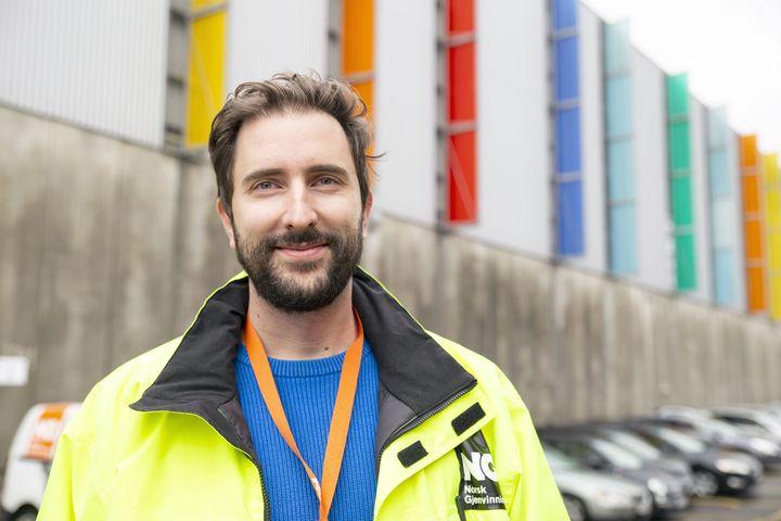 Adis Cengic, Norsk gjenvinning AS. Foto: Mona Strande / Teknisk Ukeblad