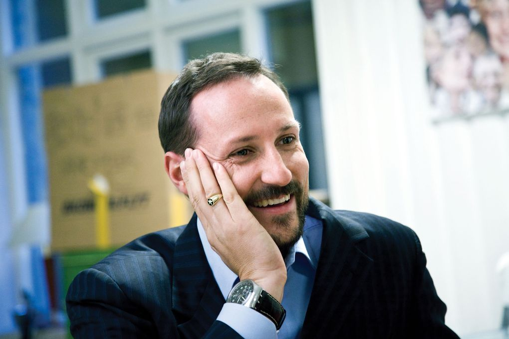 H.K.H. Kronprinsen. Foto: Dimitri Koutsomytis, = Oslo / Det kongelige hoff