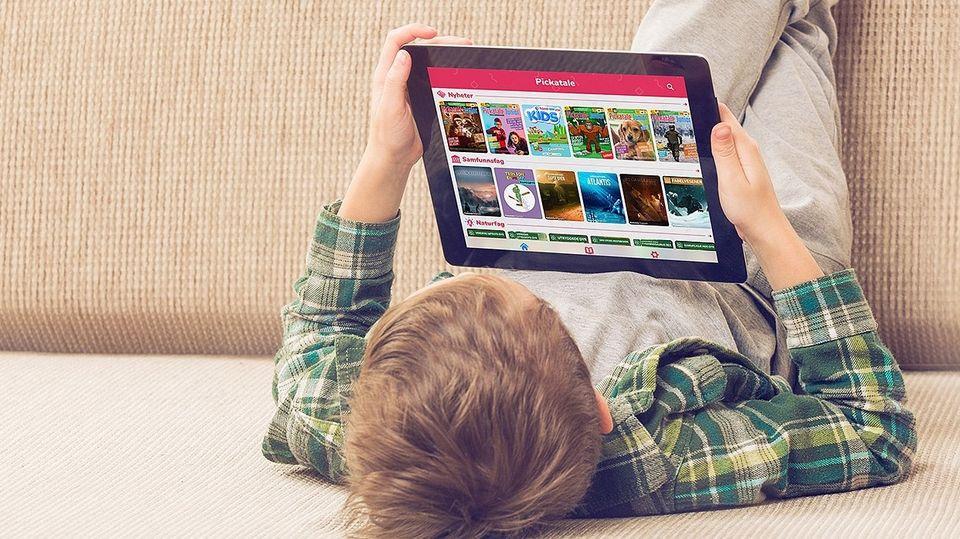 Pickatale | Pickatale med tilgang til over 2 000 barnebøker