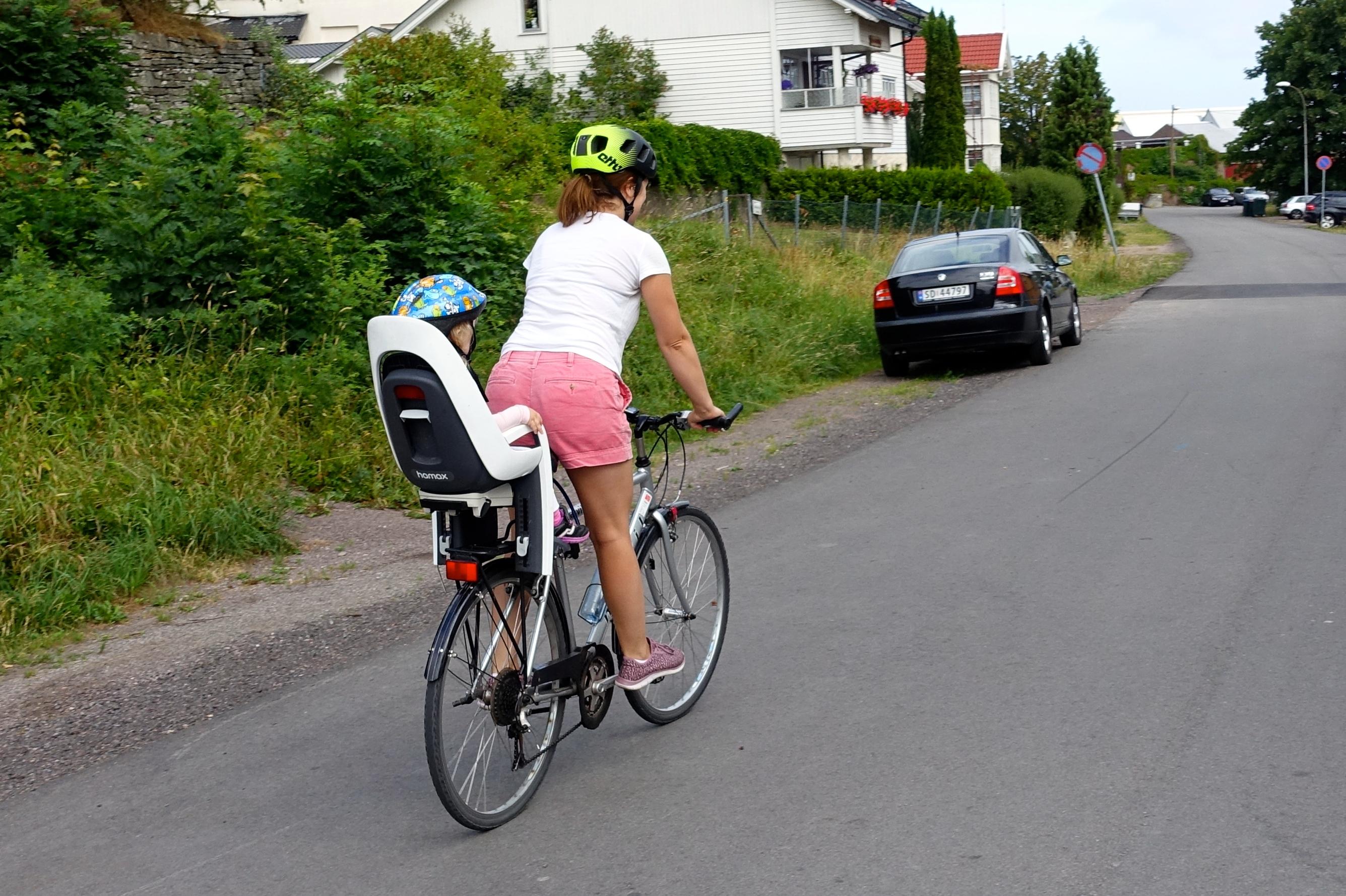 Barn med på sykkelen • Trygg Trafikk