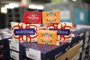 Brunoster fra TINE og Norvegia er blant produktene som er på vei til Pyeongchang
