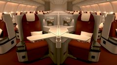 Business class. (Foto: Hainan Airlines)