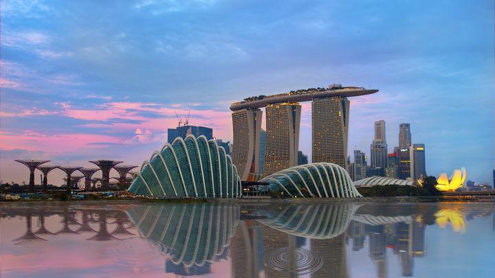 Singapur ist ein wichtiges Tor nach Asien und heute einer von vier Märkten, in denen Innovation Norway seine Präsenz verstärken wird, um norwegische Exportunternehmen besser zu unterstützen.  Foto: Gettyimages