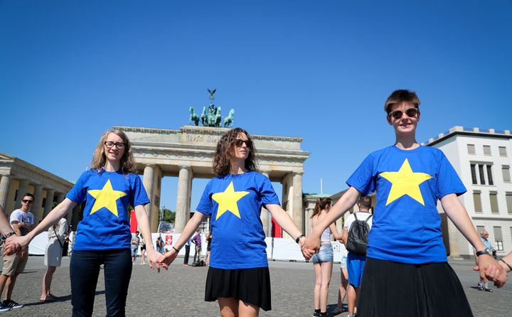 "Media service EUrVOTE: New theme package - ""Future of the EU"". Foto: Kay Nietfeld/dpa"