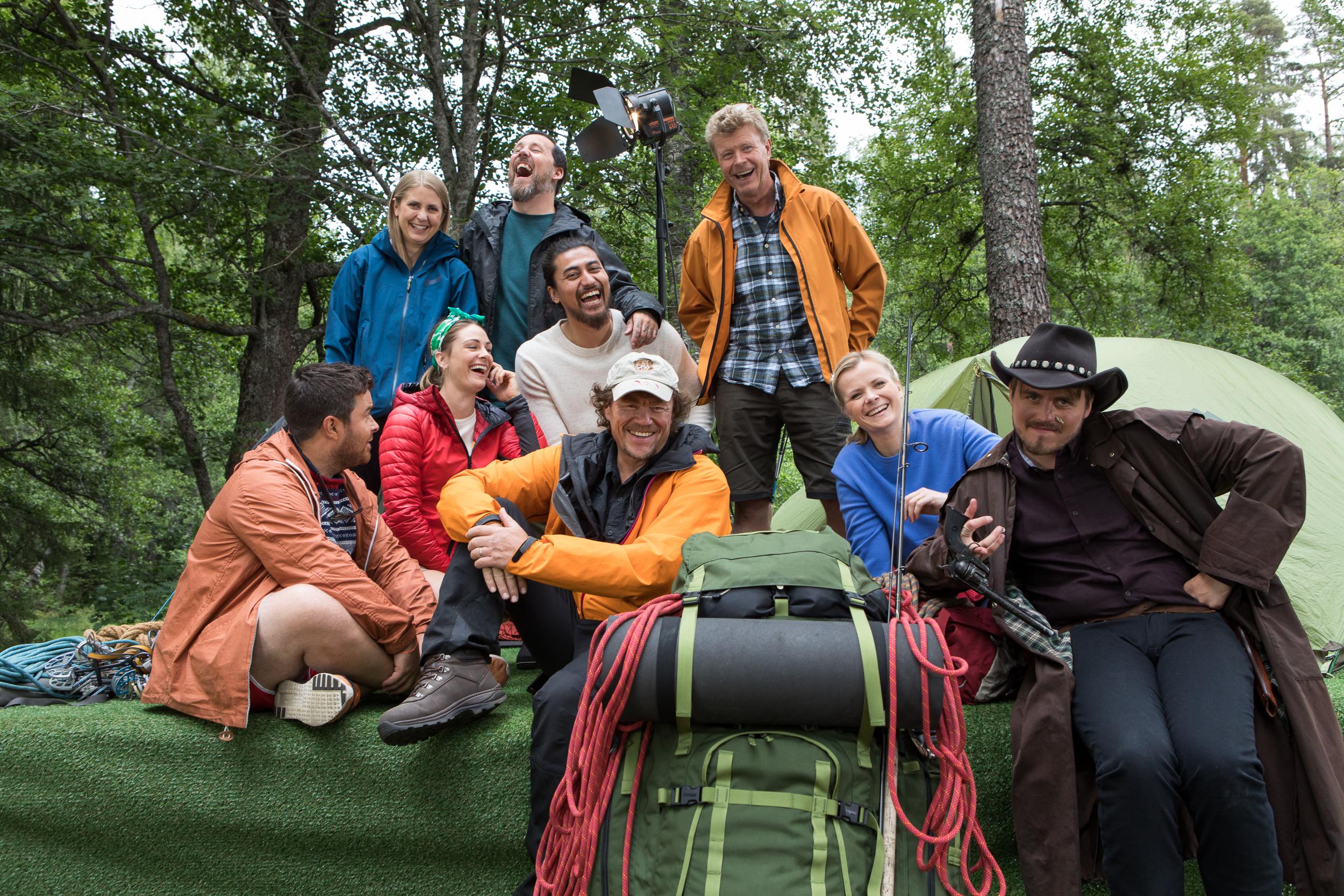 Slik blir du med Lars Monsen på tur – NRK Sommer