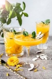 Mocktail: Mango Summer