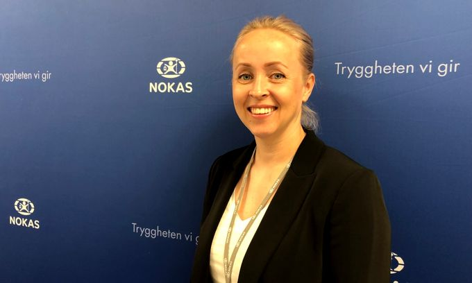 Inger Anette Lorentzen i Nokas er svært glad for at Olav Thon Gruppen fortsetter med Nokas som sikkerhetsleverandør i inntil 7 nye år.( Foto: Nokas)