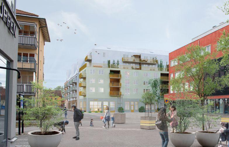 HMB Construction, datterselskap i AF Gruppen, skal bygge nye boliger sentralt i Knivsta sør for Uppsala, på oppdrag fra Genova og Redito.