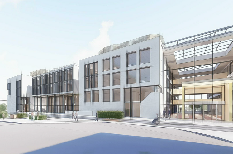 røm Gundersen, have been awarded the contract to refurbish the Kommunegården municipal centre in the town of Sandvika. Ill. Insenti
