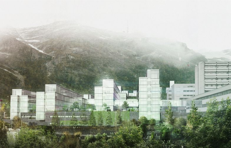 Helse Bergen HF / KHR Architecture