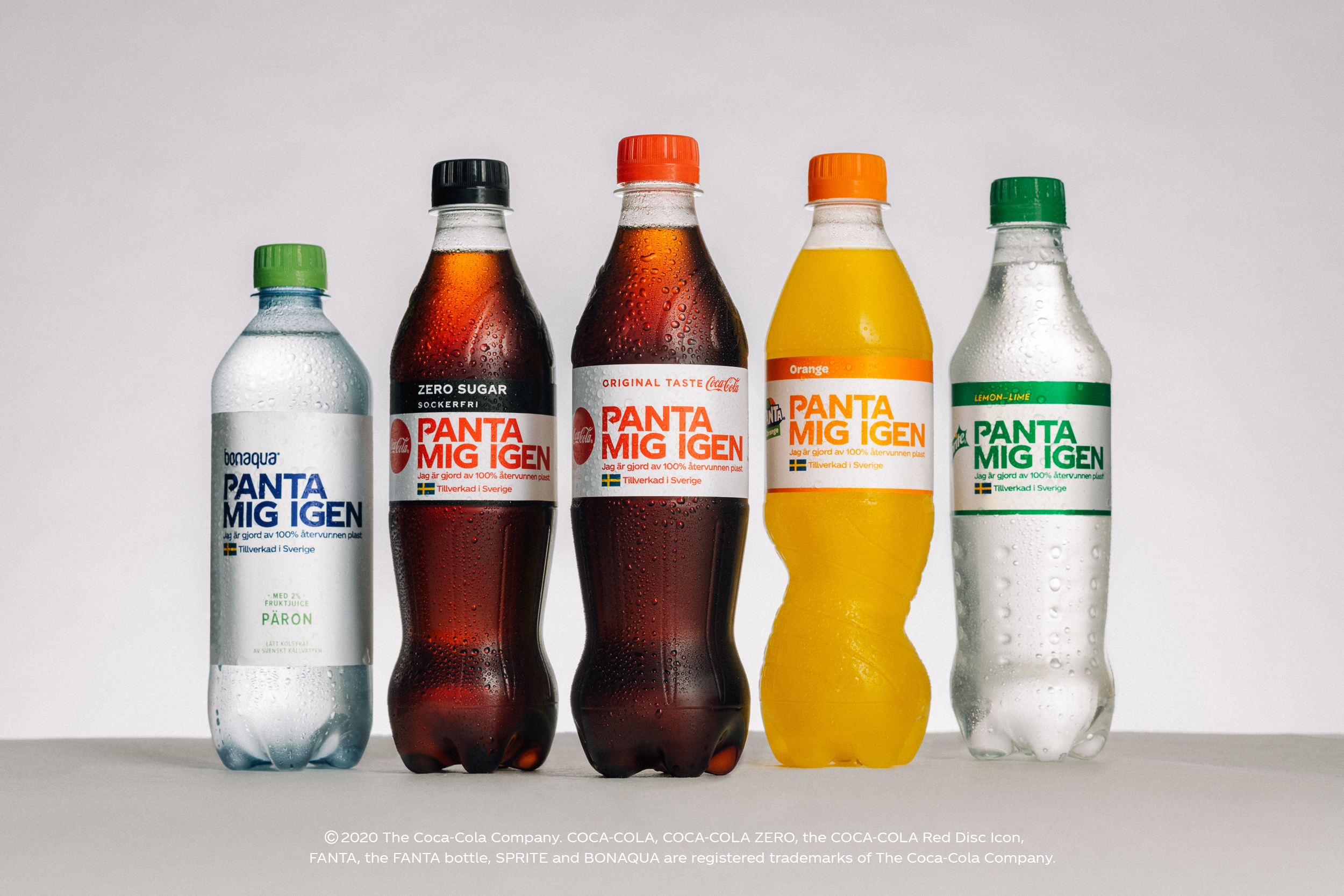 Her er de nye svenske flaskene
