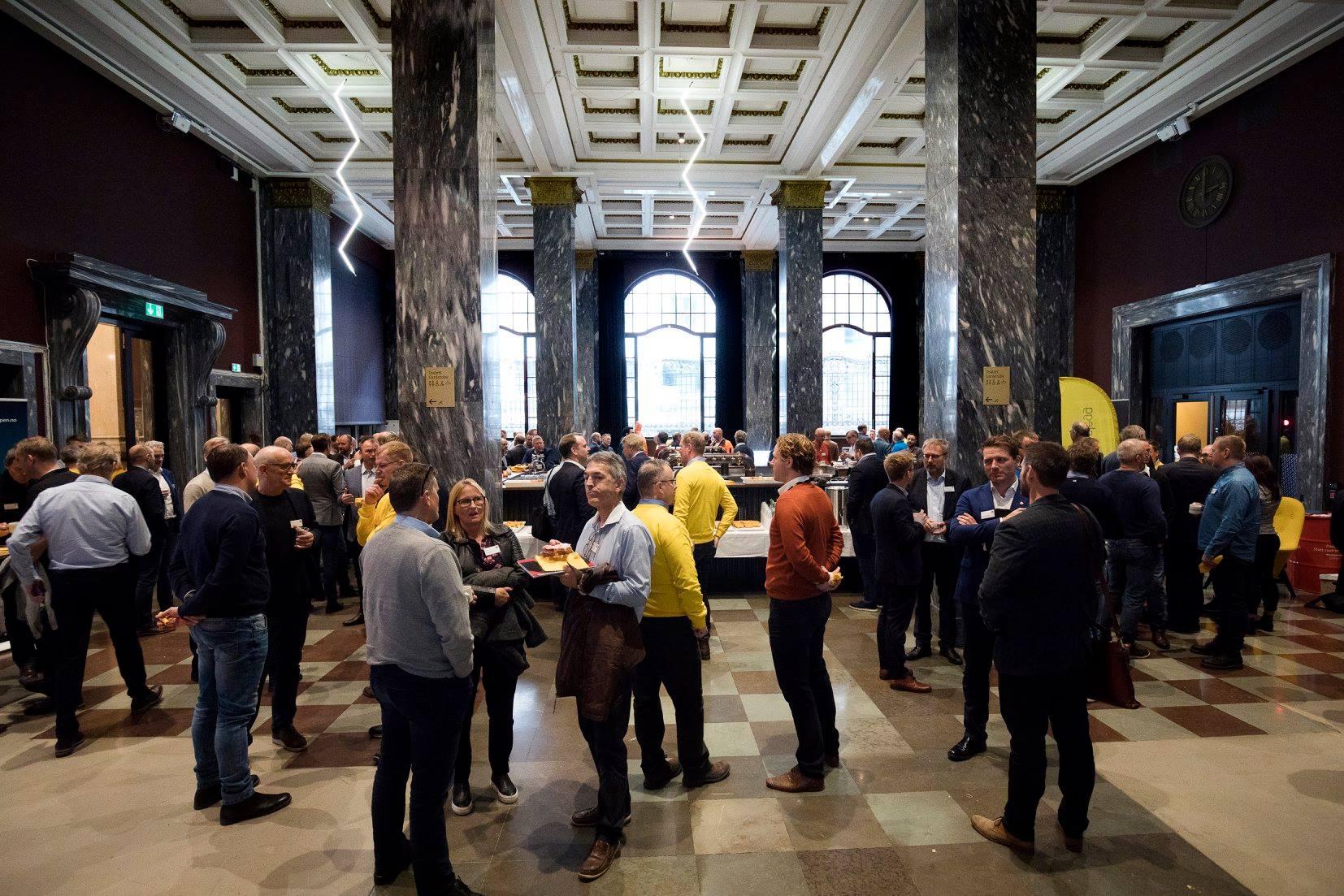 AF Gruppens leverandørdag på Sentralen. Foto: Anne Elisabeth Næss