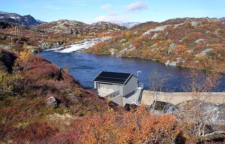 AF Gruppen har inngått kontrakt med Statkraft Energi om bygging av Vesle Kjela kraftverk i Vinje kommune. (Foto: Statkraft)