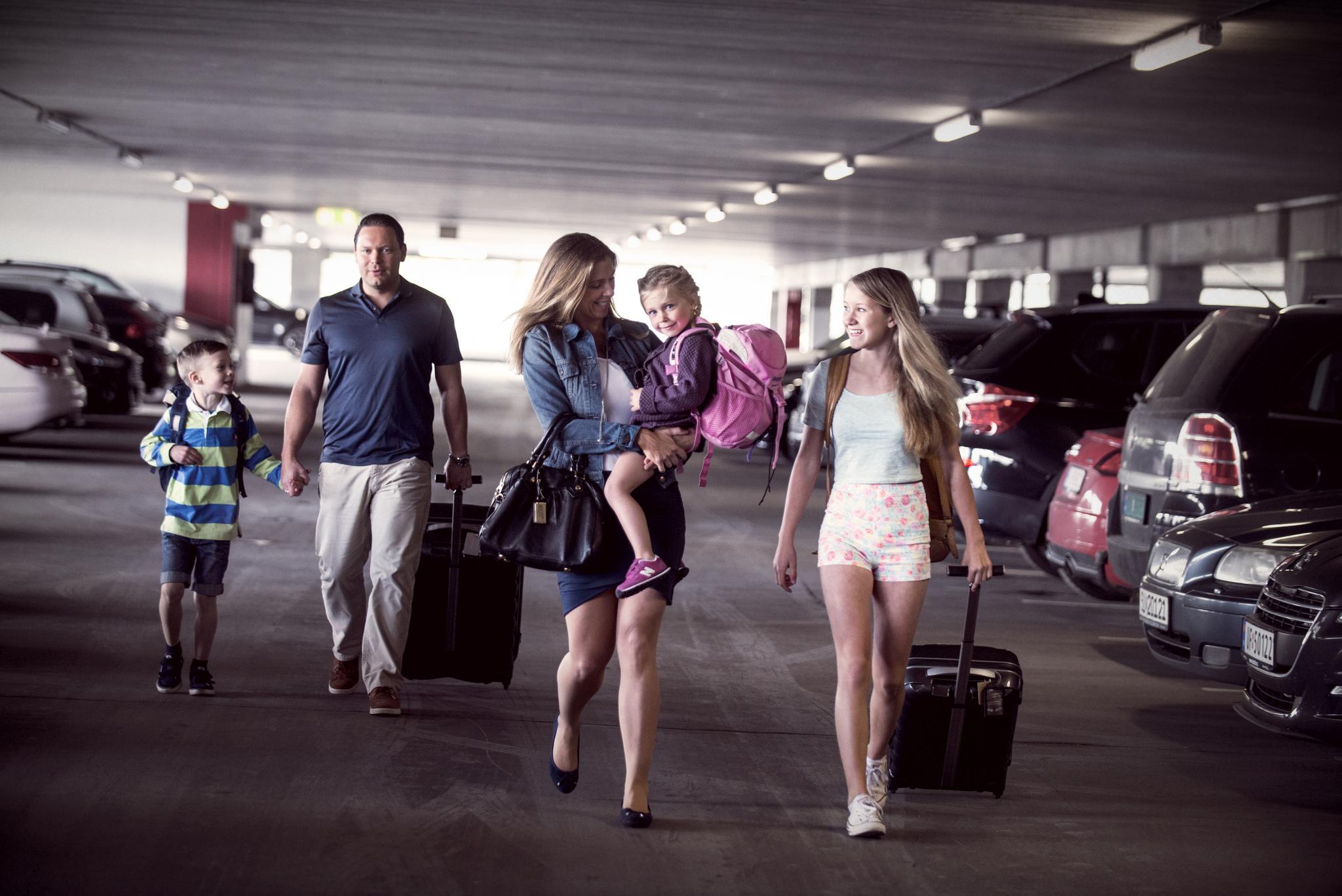 Parkering bodø lufthavn
