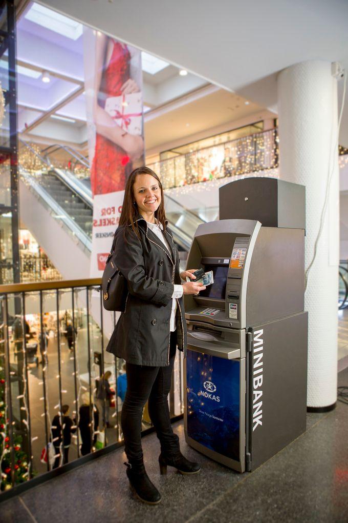 Nokas skal utplassere mer enn 300 Nokas-minibanker i S-Group-butikker i Finland.