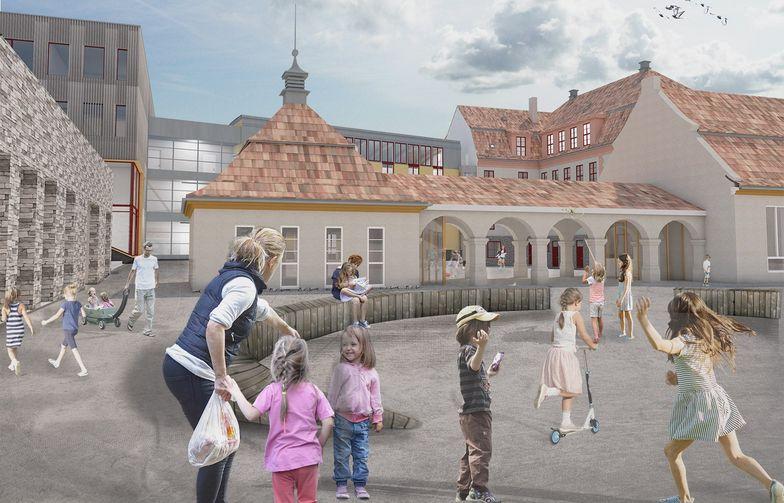 Nye Kolbotn skole vil ha plass til 784 elver når den står ferdig i 2021.