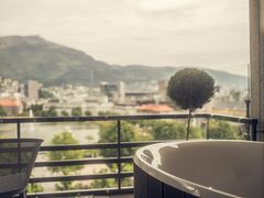 Utsikt fra jacuzzi i Hotel Norge suiten - Copyright Francisco Munoz_Hotel Norge by Scandic