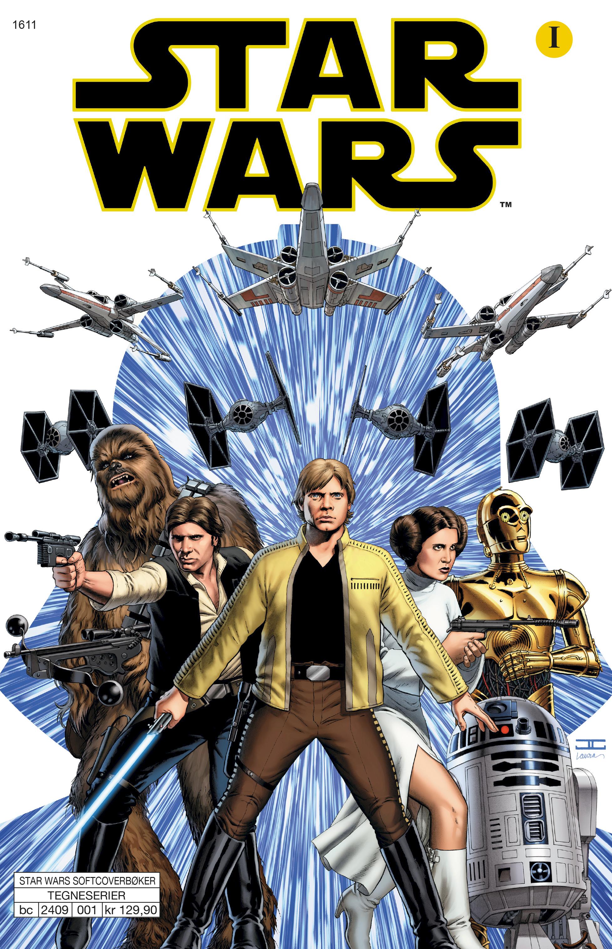 Hvordan Ser Darth Vader Ut I Det Han Forstar At Luke Er Hans Sonn Egmont Publishing