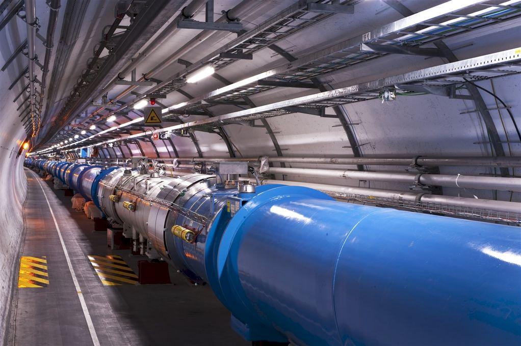 LHC. Foto: CERN