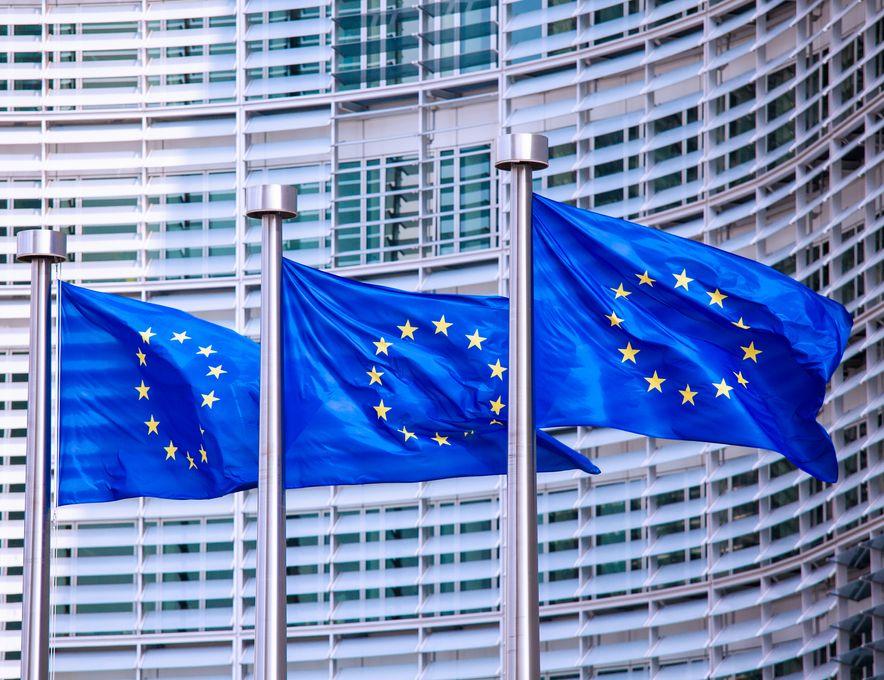 EU-flagg i Brussel, Belgia. Foto: Shutterstock