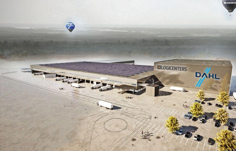 Dahl Sverige AB's new centralised warehouse facility in Bålsta outside of Stockholm