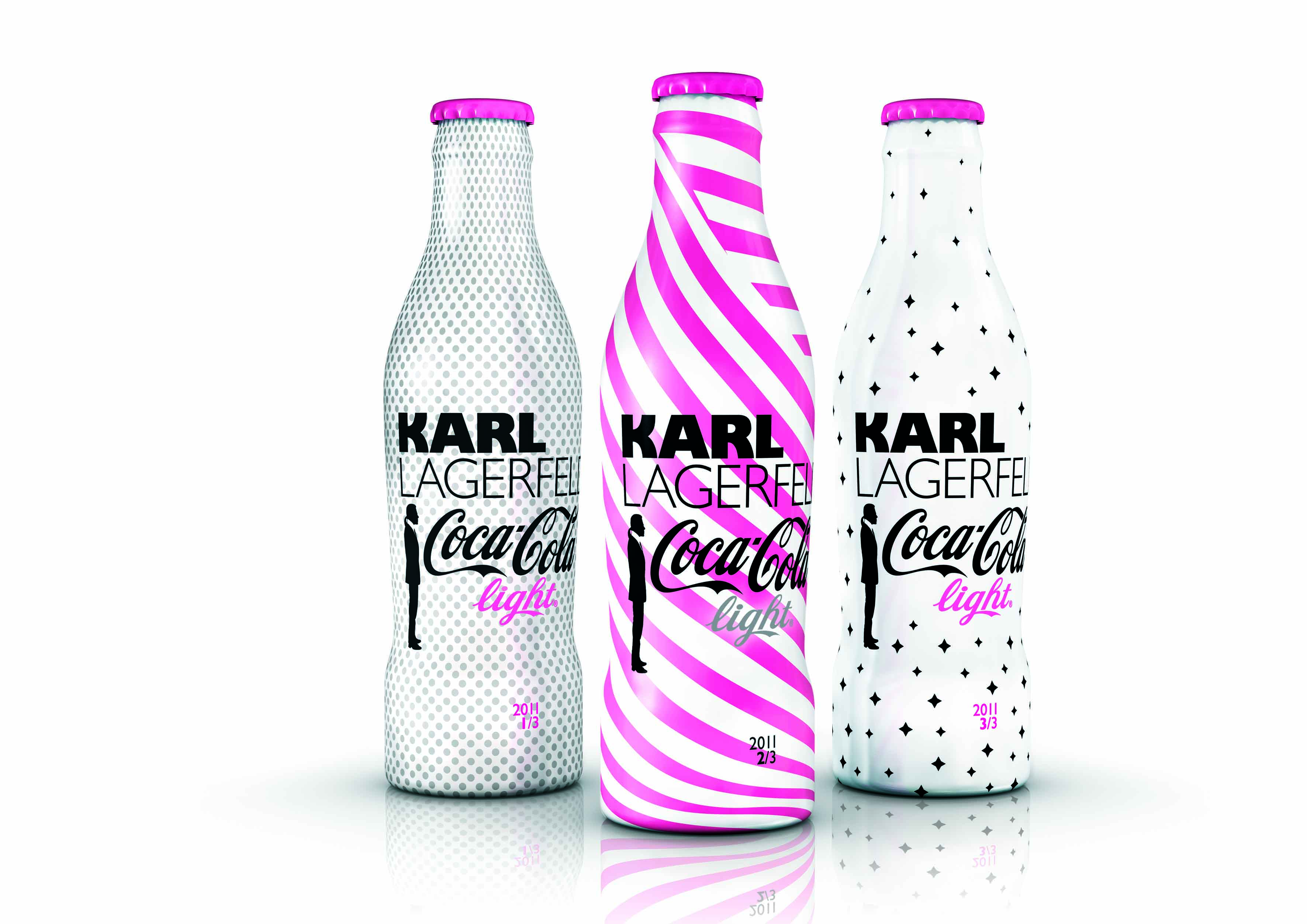 Fashion week Lagerfeld karl coca cola light for woman